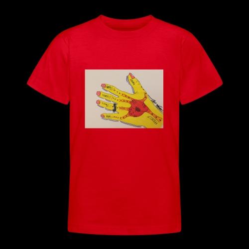 9D8D600F D04D 4BA7 B0EE 60442C72919B - Teenager-T-shirt