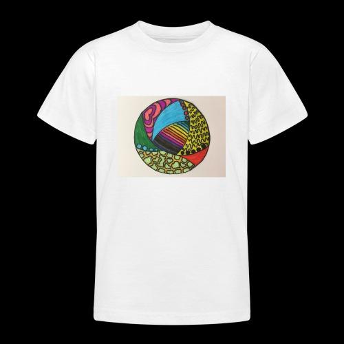 circle corlor - Teenager-T-shirt