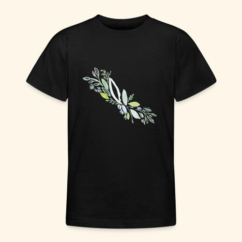 Kra utergarten Ausschnitt - Teenager T-Shirt