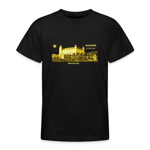 Summer Bratislava City Slowakei Burg Donau Sommer - Teenager T-Shirt