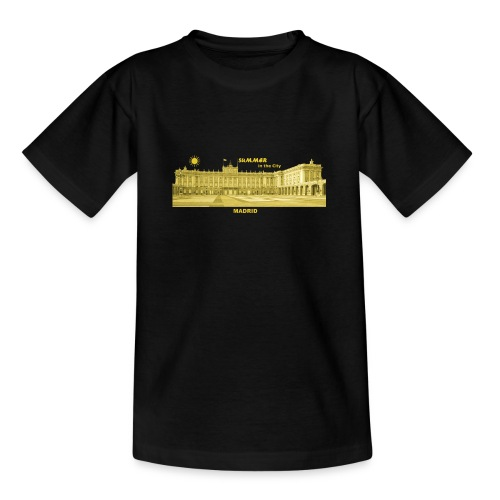 Summer Madrid City Spanien Spain Palacio Real - Teenager T-Shirt