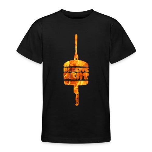 Brann i helvette - T-skjorte for tenåringer