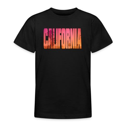 California - T-shirt tonåring