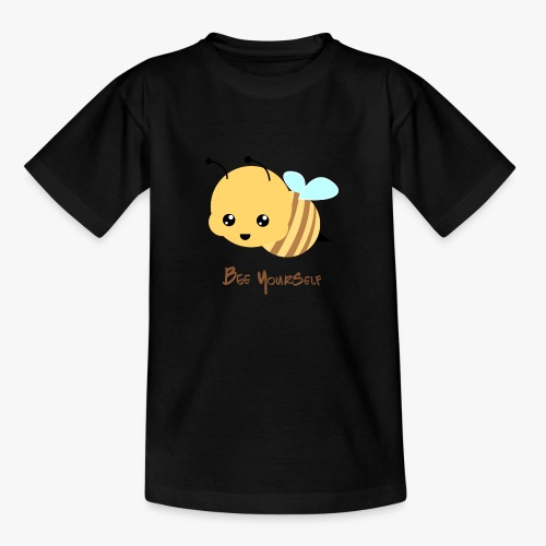 Bee Yourself - Teenager-T-shirt