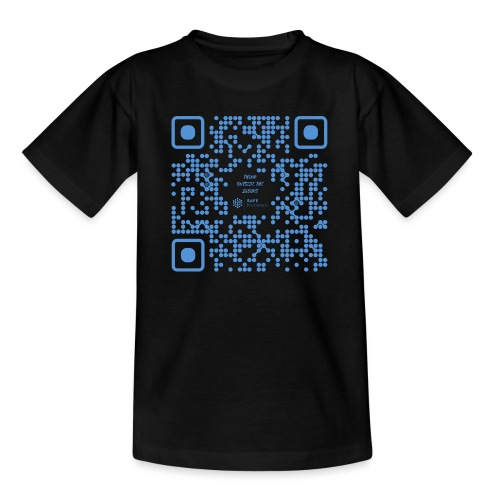 QR The New Internet Shouldn t Be Blockchain Based - Teenage T-Shirt