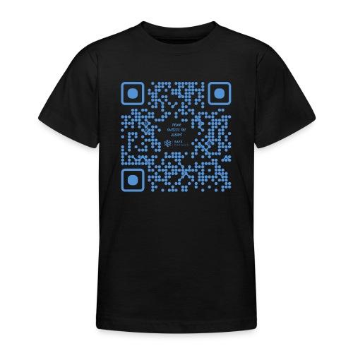QR The New Internet Shouldn t Be Blockchain Based - Teenage T-Shirt