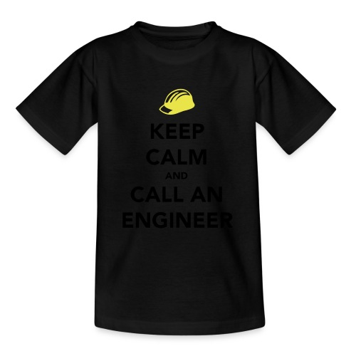 Keep Calm Engineer - Teenage T-Shirt