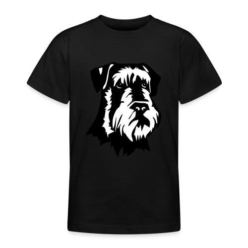 Riesensnautzer head - Nuorten t-paita