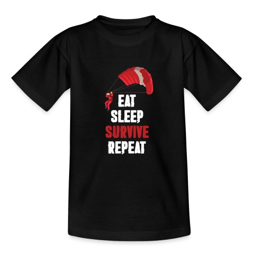 Eat - sleep - SURVIVE - repeat! - Koszulka młodzieżowa