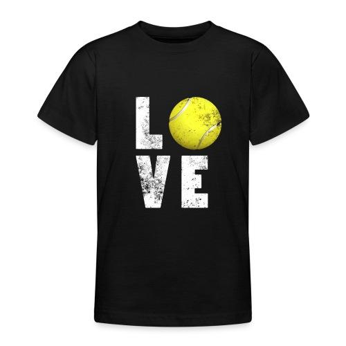 LoveTennis Shirt Ideal Gift For Tennis Players - Camiseta adolescente