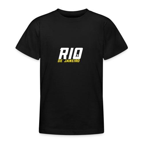 Rio de Janeiro Design. Modern und trendy - Teenager T-Shirt
