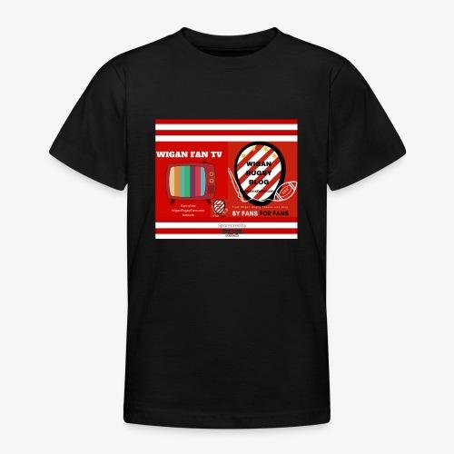 Sponsored by Logo - Teenage T-Shirt