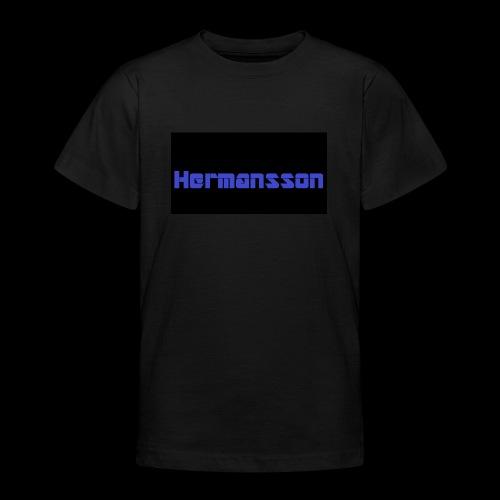 Hermansson Blå/Svart - T-shirt tonåring