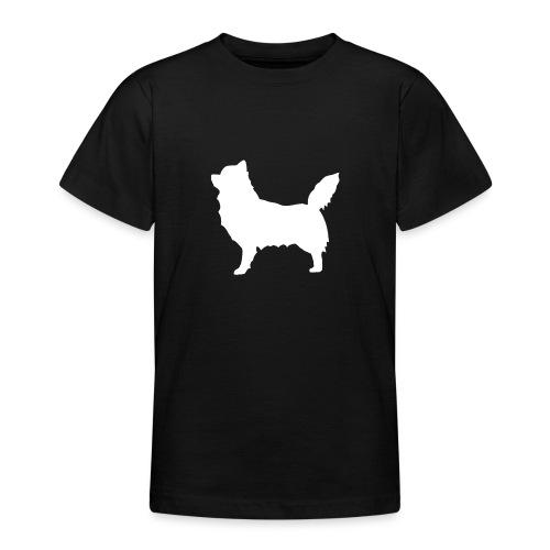 Chihuahua pitkakarva valkoinen - Nuorten t-paita