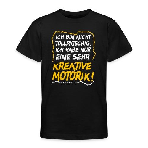 Tollpatschig Tollpatsch Grobmotorisch Ausrede - Teenager T-Shirt