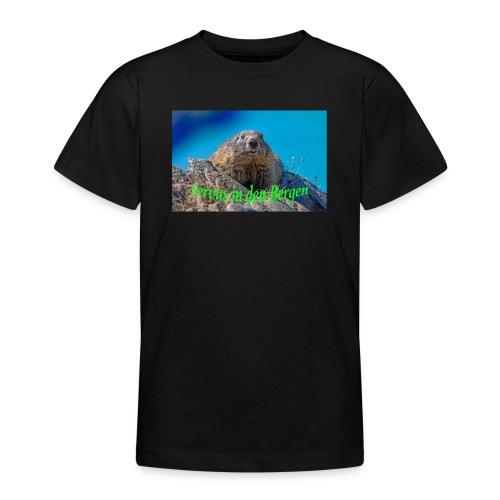 Servus in den Bergen - Teenager T-Shirt