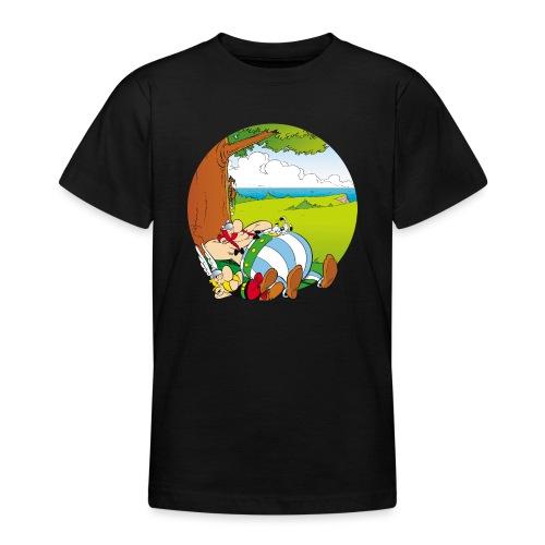 Astérix & Obélix Font Une Sieste - T-shirt Ado