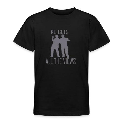 KC Gets All The Views - Teenage T-Shirt