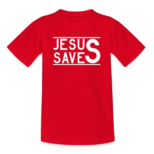 Jesus Saves - Teenager T-Shirt