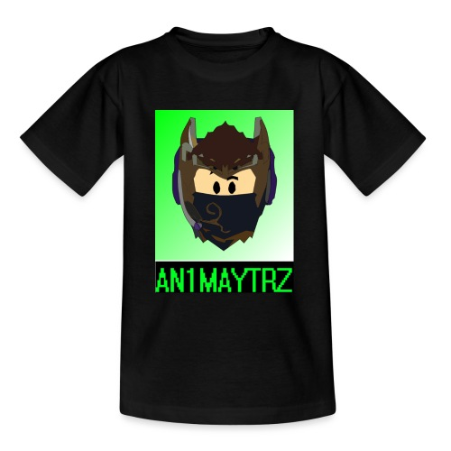 AN1MAYTRZ logo + title - Teenage T-Shirt
