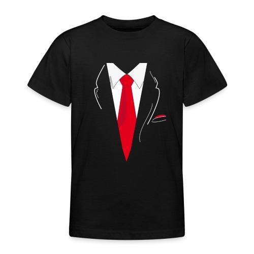 Traje y Corbata - Camiseta adolescente