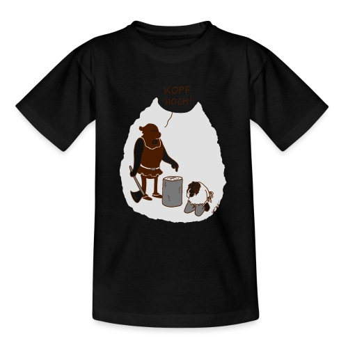 Kopf hoch - Teenager T-Shirt