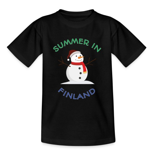 Summer in Finland - Nuorten t-paita