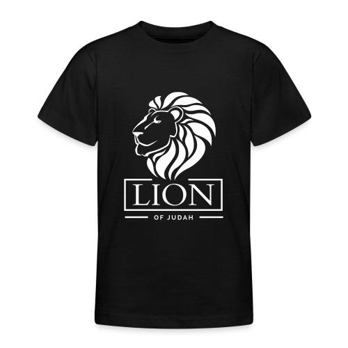 Lion of Judah - Rastafari - Teenager T-Shirt