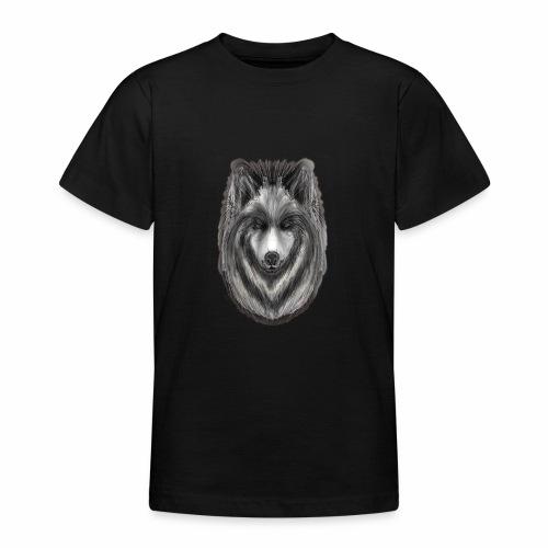 Foxy Wolf by Jon Ball - Teenage T-Shirt