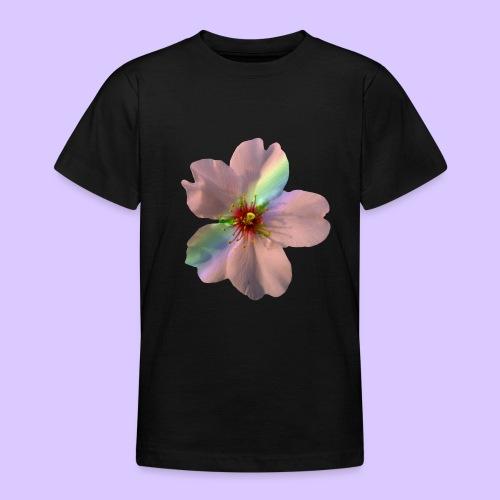 zauberhafte Blüte in coral, Regenbogen - Teenager T-Shirt