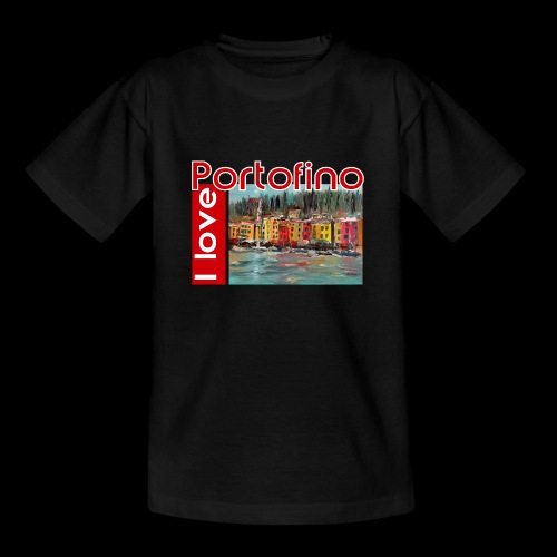 I love Portofino. Italy. - Teenager T-Shirt