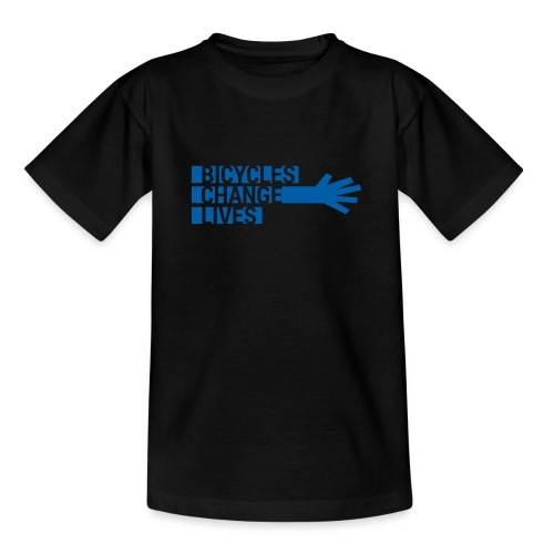 BCL Blue Hand - Teenage T-Shirt