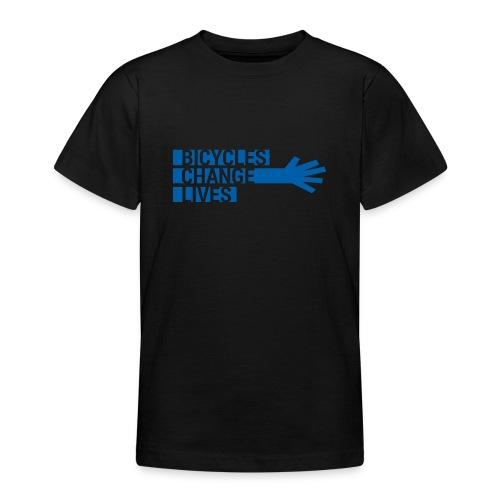 BCL Blue Hand - Teenage T-Shirt