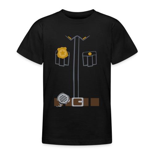 Police Tee Black edition - Teenage T-Shirt