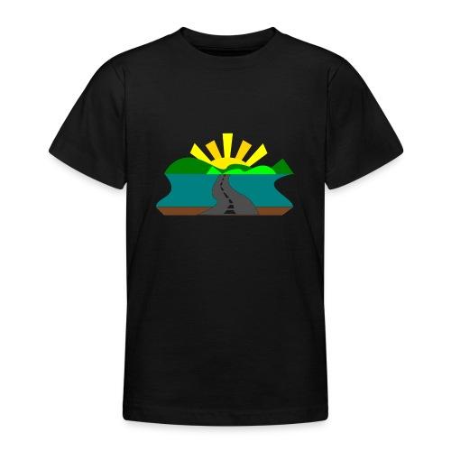land - Camiseta adolescente