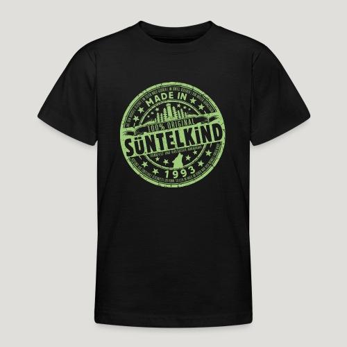 SÜNTELKIND 1993 - Das Süntel Shirt mit Süntelturm - Teenager T-Shirt