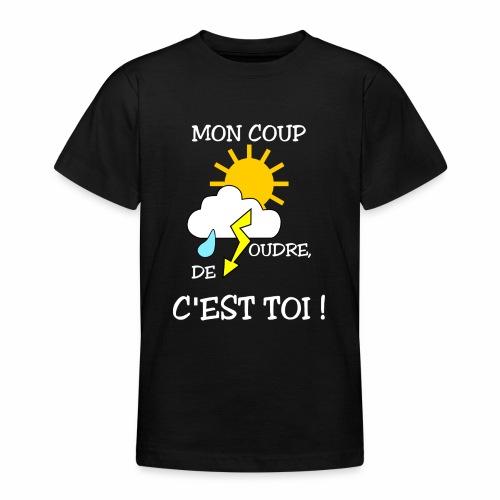 Mon coup de foudre - T-shirt Ado