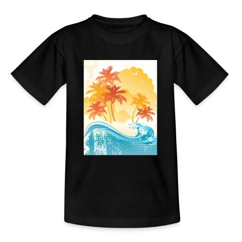 Palm Beach - Teenage T-Shirt