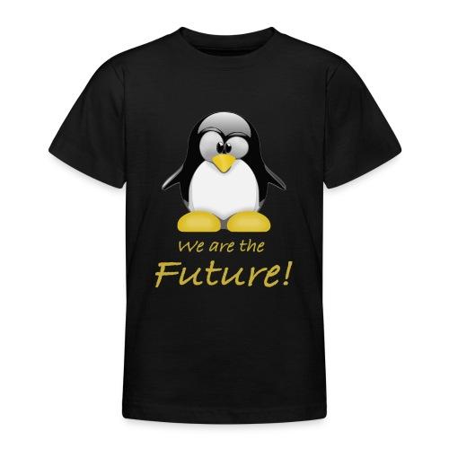 pinguin we are the future - Maglietta per ragazzi