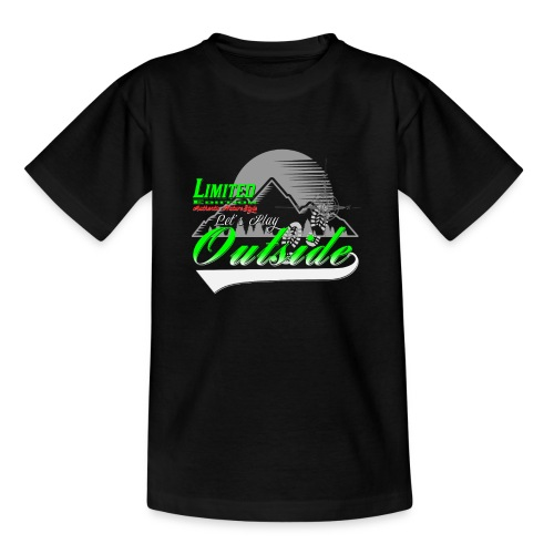 Wandern Limited Edition Lets Play Outside - Teenager T-Shirt