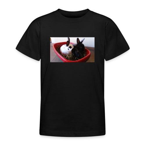 Warme Sachen mit dem Hasenlogo - Teenager T-Shirt