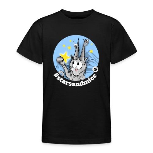 Astrokatze Steinbock - Teenager T-Shirt