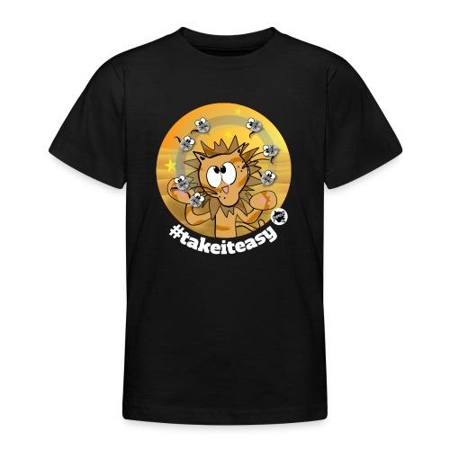 Astrokatze Löwe - Teenager T-Shirt