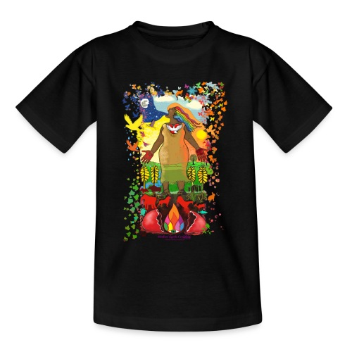 Mother Earth Creating - Teenager T-shirt