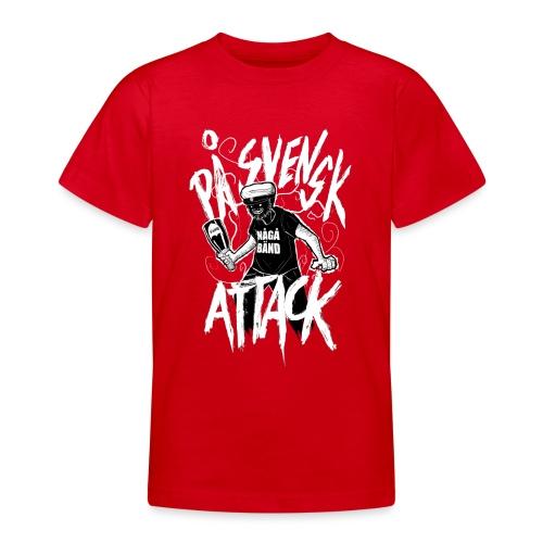 På Svenska Tack - Teenage T-Shirt