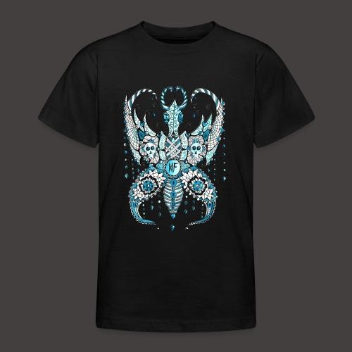 Papillon Lilou Turquoise - T-shirt Ado