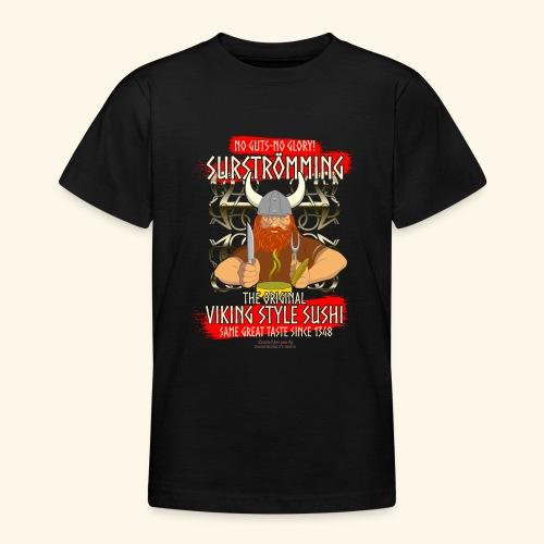 Surströmming Challenge Viking Sushi T-Shirt - Teenager T-Shirt