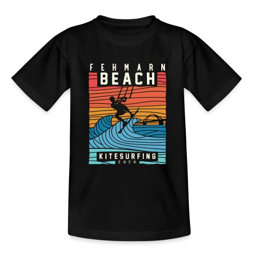 Fehmarn - Kitesurfen - Teenager T-Shirt