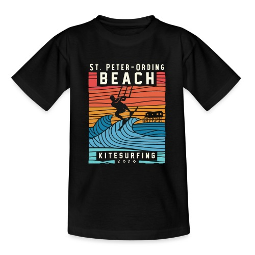 Kitesurfing St. Peter Ording - Teenager T-Shirt