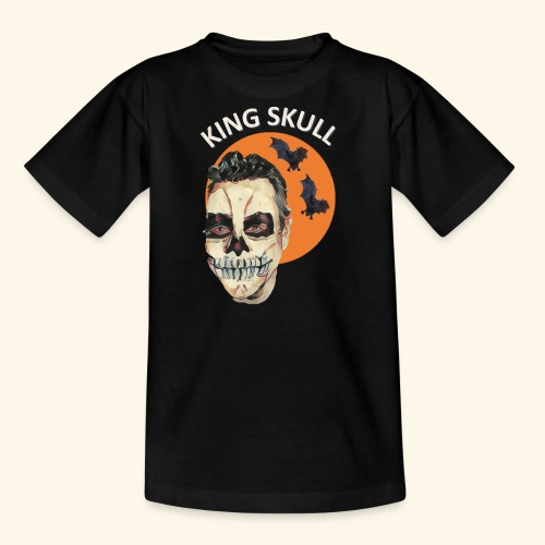 Totenkopf Nahtoderfahrung Mystik - Teenager T-Shirt